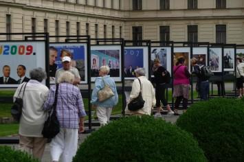 Zahradu Strakovy akademie si o víkendu prohlédly desítky návštěvníků