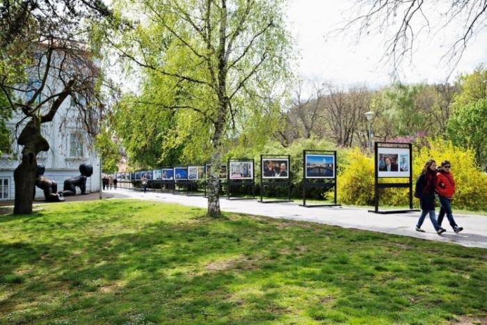 Výstava fotografií 10 let Č R v EU, Kampa © ČTK